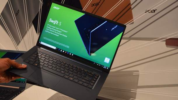 Acer Swift 5 в Україні: ціна, характеристики ноутбука