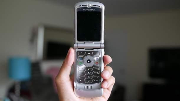 Motorola RAZR V3: фото