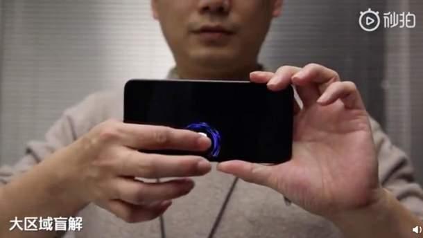 В Xiaomi удосконалили сканер відбитків пальців на екрані
