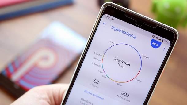 Digital Wellbeing доступна для всех пользователей Android