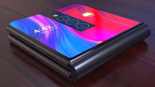 Гнучкий смартфон Xiaomi - відео