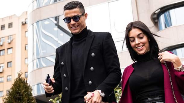Кріштіану Роналду та Джорджина Родрігес в Мадриді