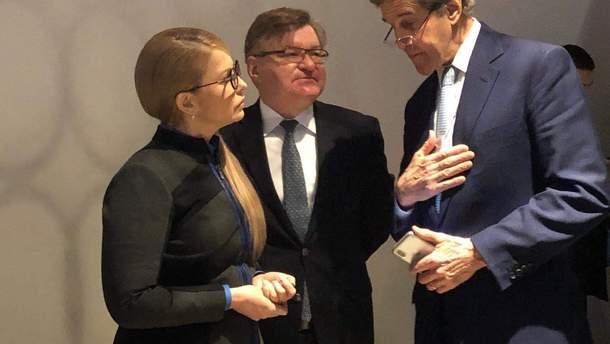 Тимошенко встретилась с Джоном Керри