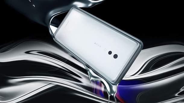 Vivo APEX 2019 - характеристики, фото безрамочного смартфона