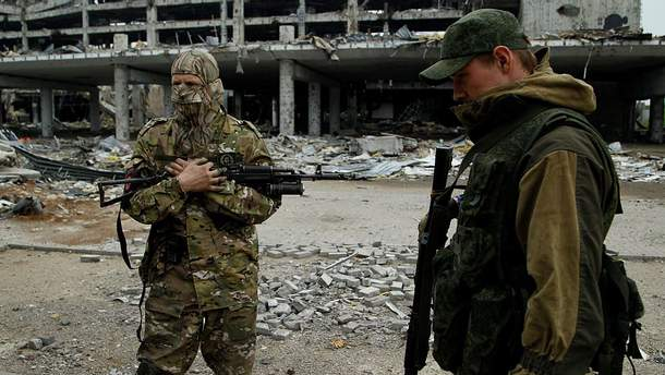 """""""Они уже никуда не спешат"""": як бойовики зловтішались із загиблих Кіборгів у ДАПі (відео)"""