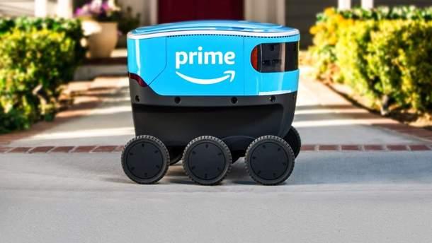 Amazon тестирует доставку с помощью роботов