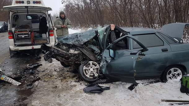 На Донетчине в ДТП пострадали пять человек