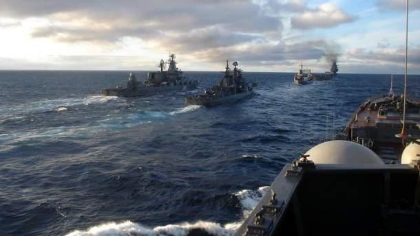 Украина не повелась на провокации РФ в Азовском море