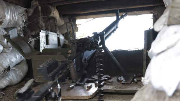 Враг 9 раз открывал огонь по украинским защитникам