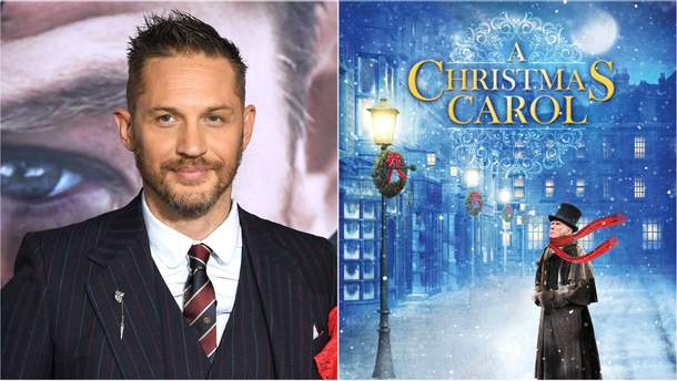 """Том Харді зіграє головну роль в """"Різдвяній історії"""" Чарльза Діккенса"""