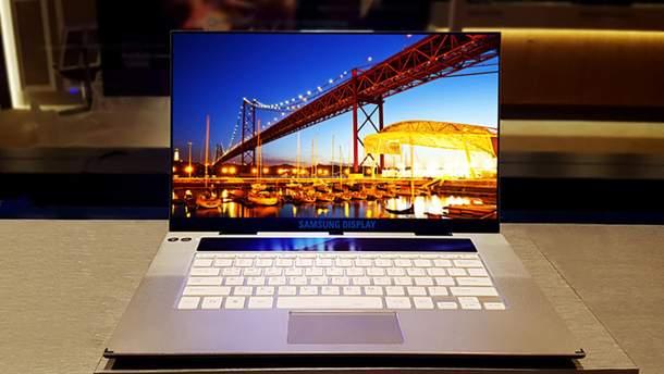 Самсунг представила рекордный экран для ноутбуков
