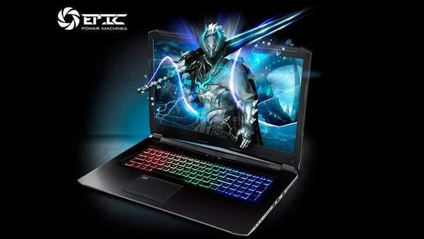 В Украине появился бренд игровых ноутбуков EPIC Power Machines