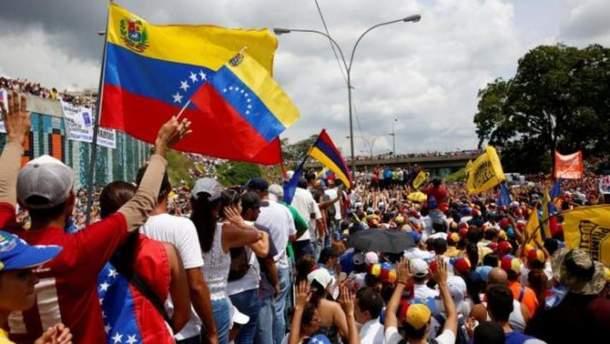 Протести у Венесуелі