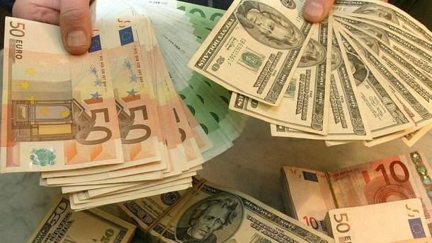 Наторгах 30января доллар иевро упали вцене
