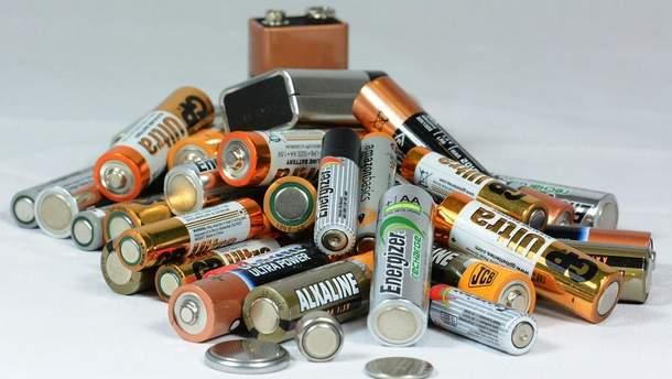 Пункти прийому батарейок, ламп та електроніки - Київ