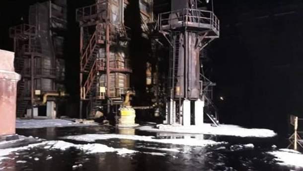 Взрыв на Днепровском коксохимическом заводе