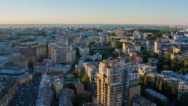 Карту плотности заселенности Киева можно посмотреть онлайн