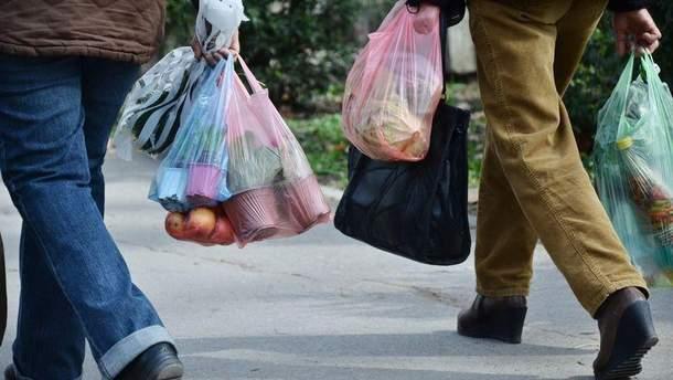 В Україні можуть заборонити деякі види пластикових пакетів