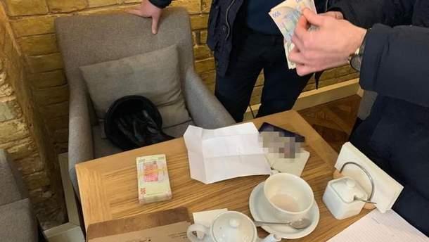 Задержание коррупционера в Киеве