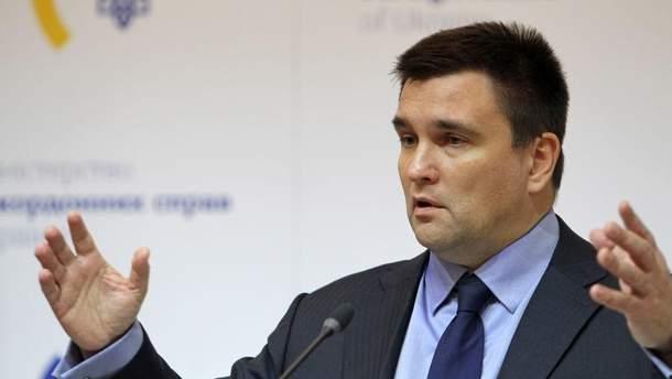 Клімкін прокоментував новий план для Донбасу