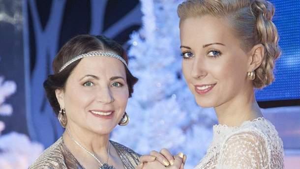Нина Матвиенко с дочкой Тоней