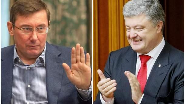 """Соцсети высмеяли заявление Луценко о """"неагитации"""" за Порошенко"""
