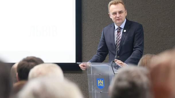 Кандидат в президенты Андрей Садовый