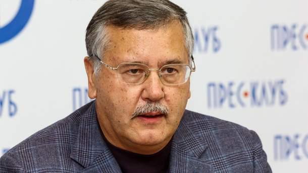Гриценко відмовився очолити Міноборони в 2014 році