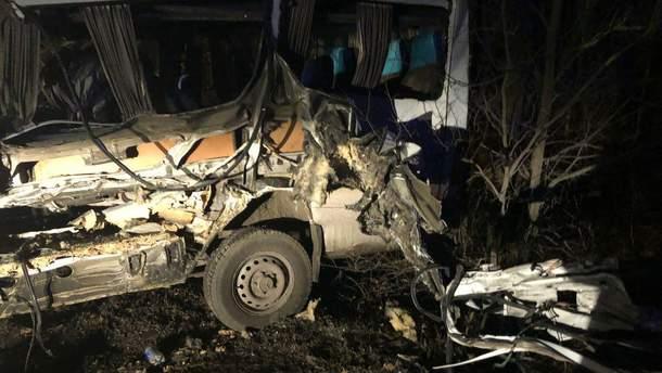 Под Одессой в ДТП погибли двое полицейских