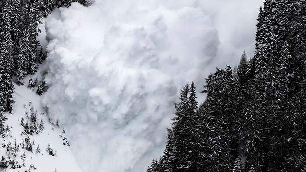 В Карпатах существует опасность схода лавин