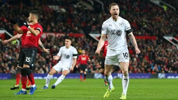 Манчестер Юнайтед - Бернлі: відео голів, огляд матчу