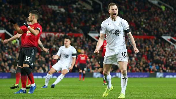 Манчестер Юнайтед – Бернли: видео голов, обзор матча