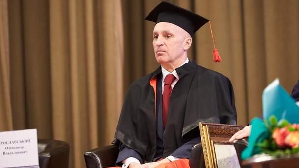 Олександр Ярославський став Doctor Honoris за внесок в економіку України і Харківщини