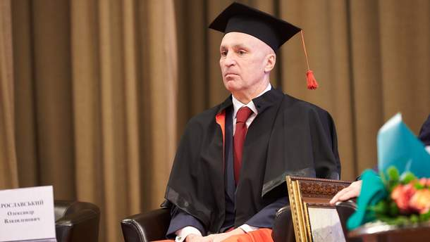 Александр Ярославский стал Doctor Honoris за вклад в экономику Украины и Харьковщины