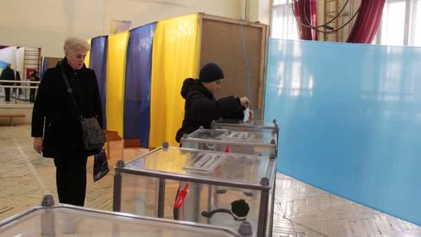 Сколько украинцев временно изменили место голосования на выборах