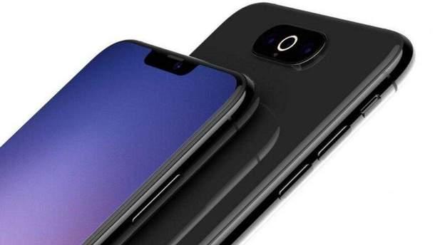 Ймовірний дизайн iPhone XI (2019)