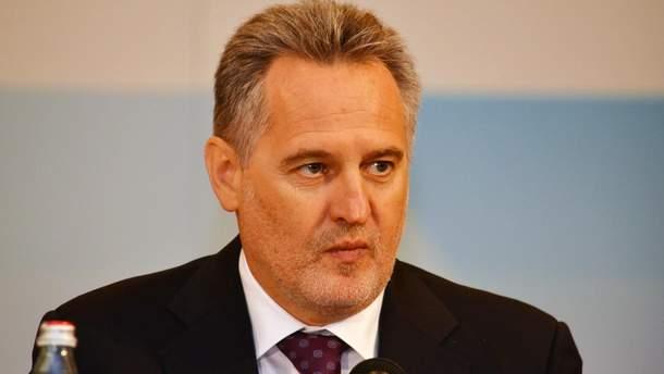 Дмитрий Фирташ контролирует 70% рынка газоснабжения потребителям