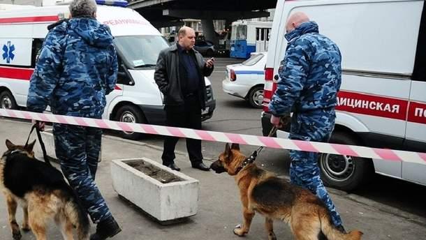 """Масштабні """"замінування"""" у Росії"""