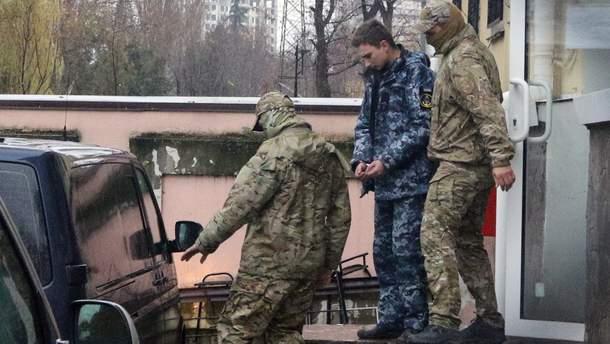 В России допросили четырех пленных моряков