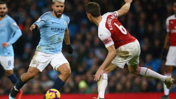 Манчестер Сіті - Арсенал: відео голів, огляд матчу АПЛ 2018/2019