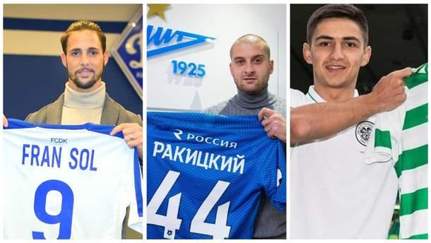 Топ-трансферы украинских клубов