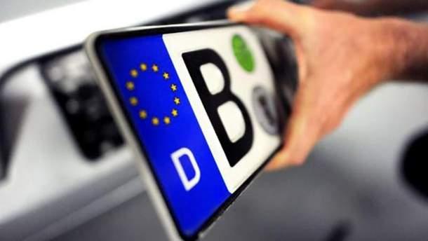 """Сколько уплатили владельцы """"евроблях"""" за оформление автомобилей"""