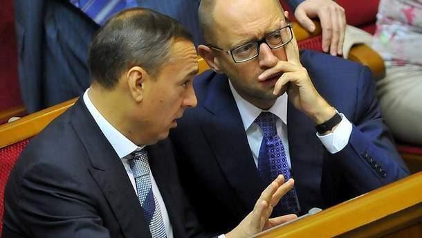 Яценюк та Мартиненко користувалися послугами проплачених інтернет-ботів