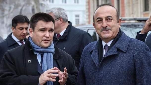 Павел Климкин встретился с министром иностранных дел Турции Мевлютом Чавушоглу