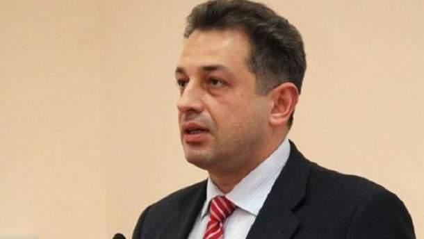 Посол Украины в Финляндии Андрей Олефиров