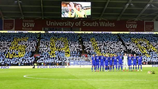 """Гравці та фанати """"Кардіффа"""" вшанували пам'ять Еміліано Сала"""