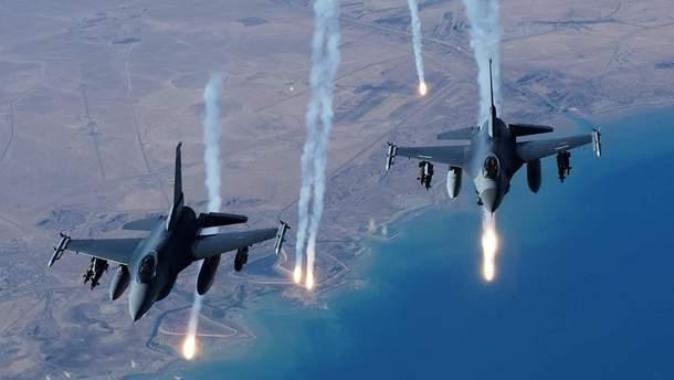 Коалиция нанесла очередной удар по военным объектам в Сирии