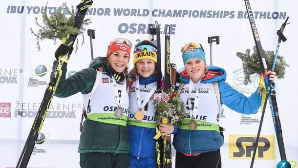 Катерина Бех перемогла на юнацбкому чемпіонаті світу з біатлону