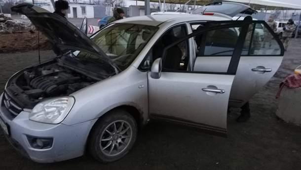 Пограничники задержали украинца, перевозившего взрывчатку на Донбассе