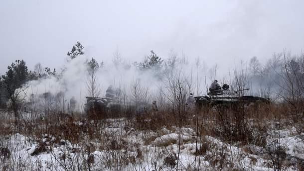 Боевики обстреливали украинские позиции 9 раз и понесли потери